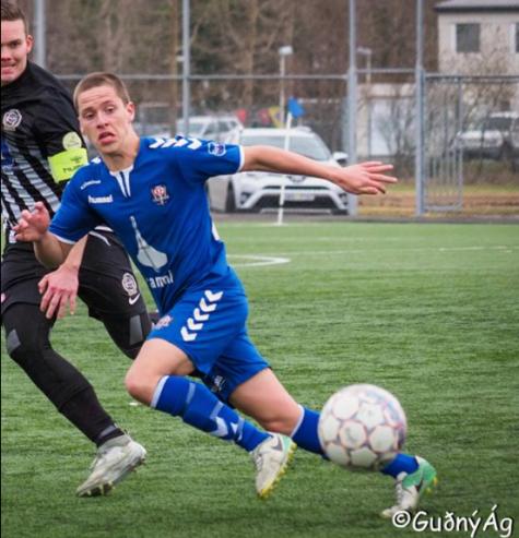 Björn Andri skoraði sitt fyrsta KF mark í dag